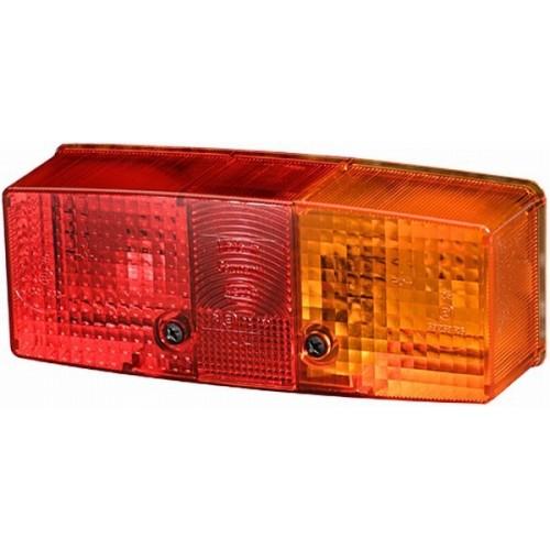 Cabochon feu arrière gauche hella 9EL 118 697-001