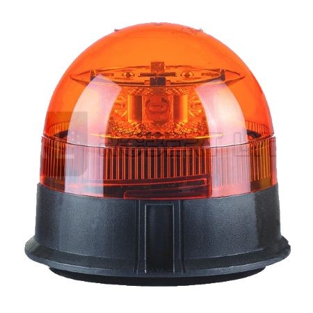 clignotant 39 LED 12//24 V IP56 Gyrophare LED orange avec support