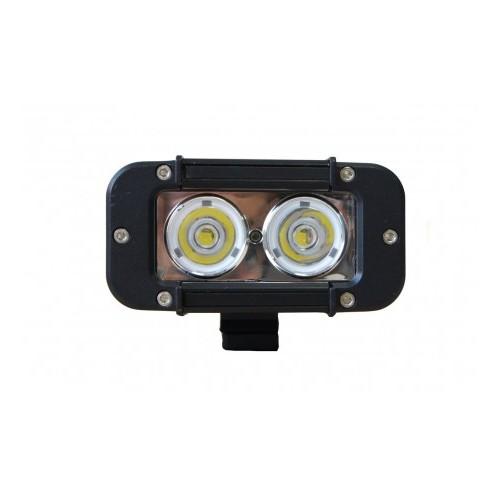 Phare de travail 2 LEDS Compact 20W 1820 LUMENS 9/32 VOLTS