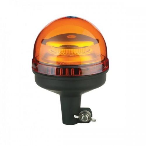 Gyrophare 45 LEDS sur Tige/hampe courte 12/24 Volts R10 & R65