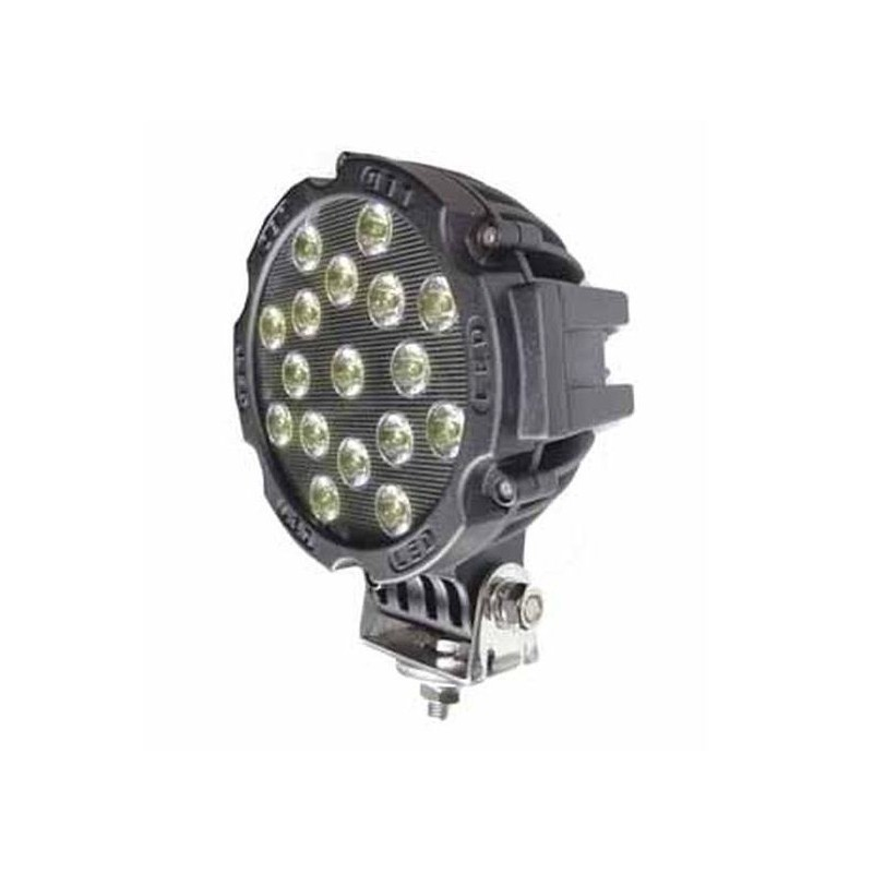 Phare de travail rond 17 LED PRO 3825 LUMENS 12/24 VOLTS
