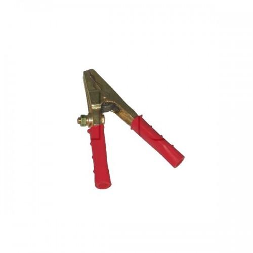 Pince de batterie laiton 16/35mm2 Modèle professionnel Rouge/Noir