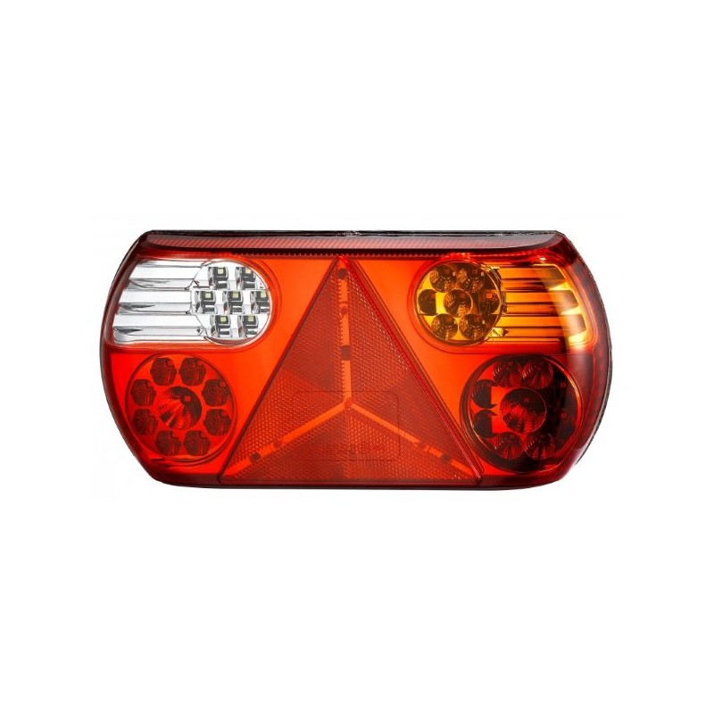 FEU ARRIERE 12/24 V 32 LED AVEC TRIANGLE