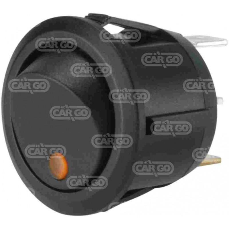 Mini interrupteur à bascule, LED orange