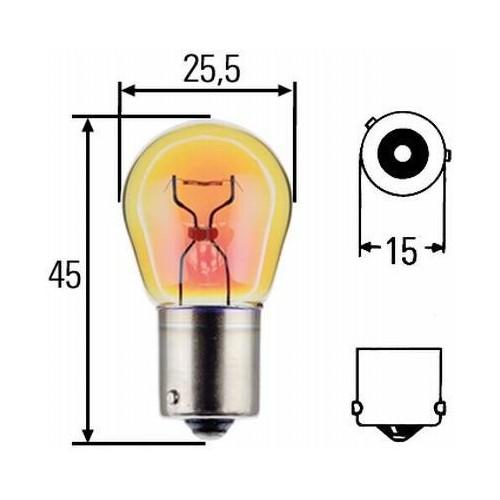 Ampoule PY21W HD 24 volts 8GA 006 841-251