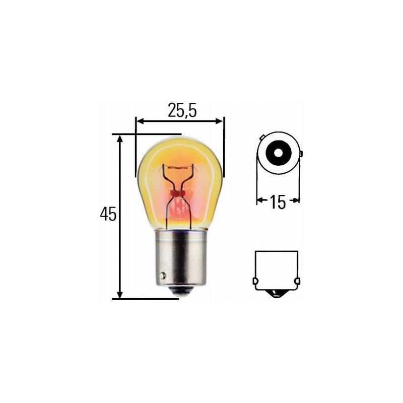 Ampoule PY21W HD 24 volts