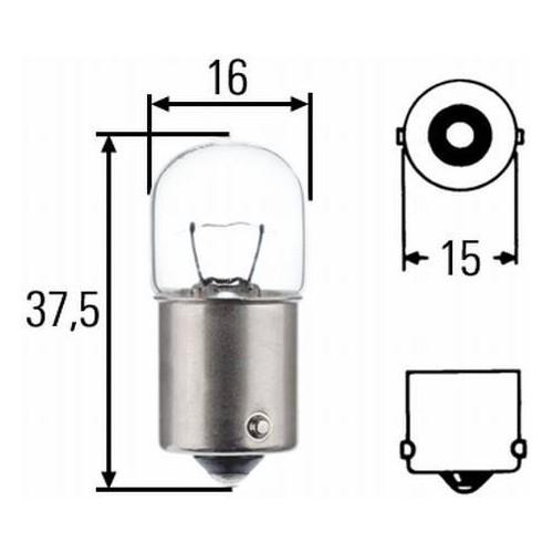 Ampoule R5W 24V Hella 8GA 002 071-241