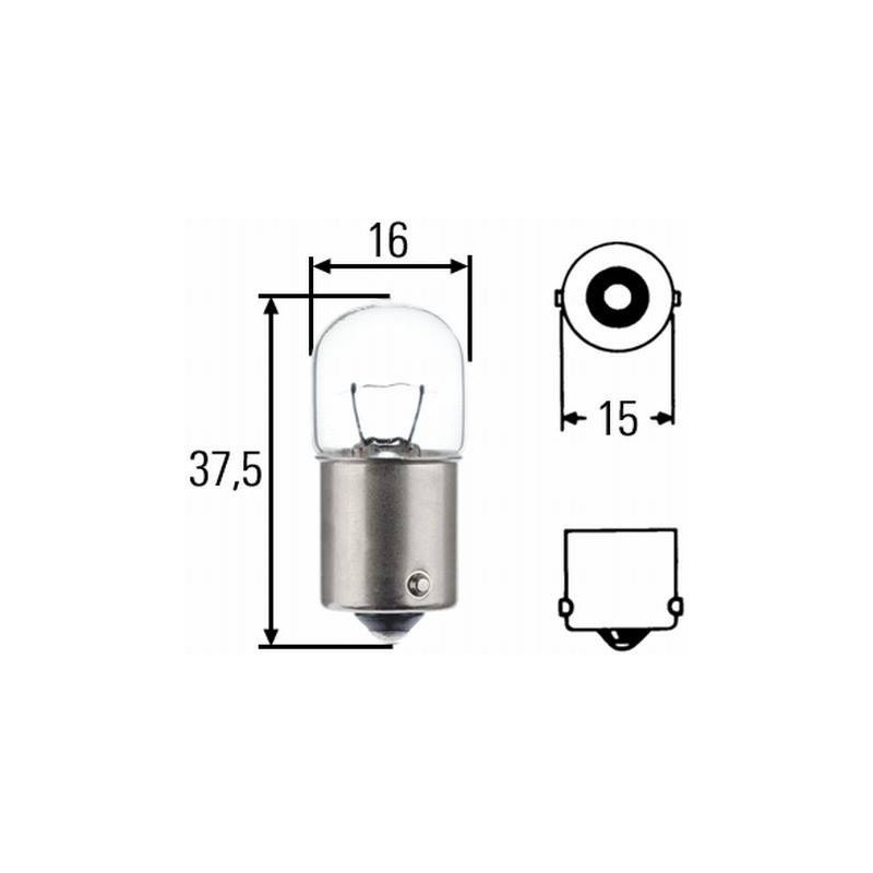 Ampoule R5W 24 V 8GA 002 071-241