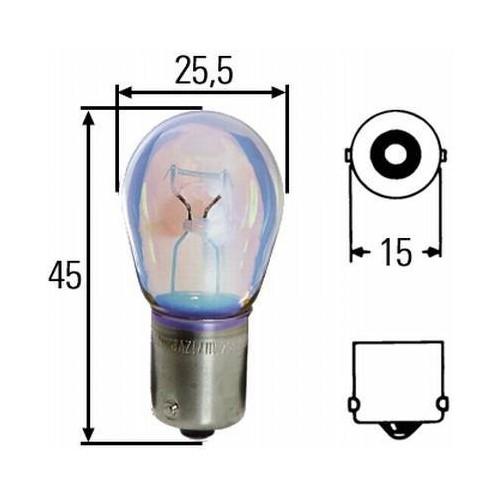 Ampoule P21W 24 volts Hella 8GA 002 073-241
