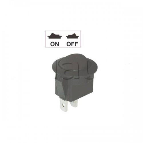 Interrupteur à bascule On-Off Rond