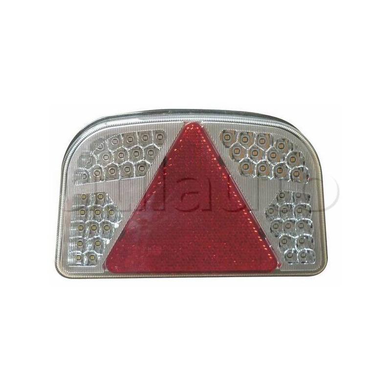 Feu complet LED 5 fonctions 12 volts