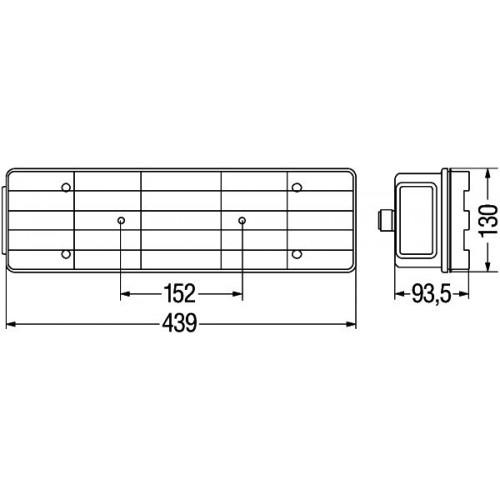 Feu arrière Hella 2SK 340 101-001