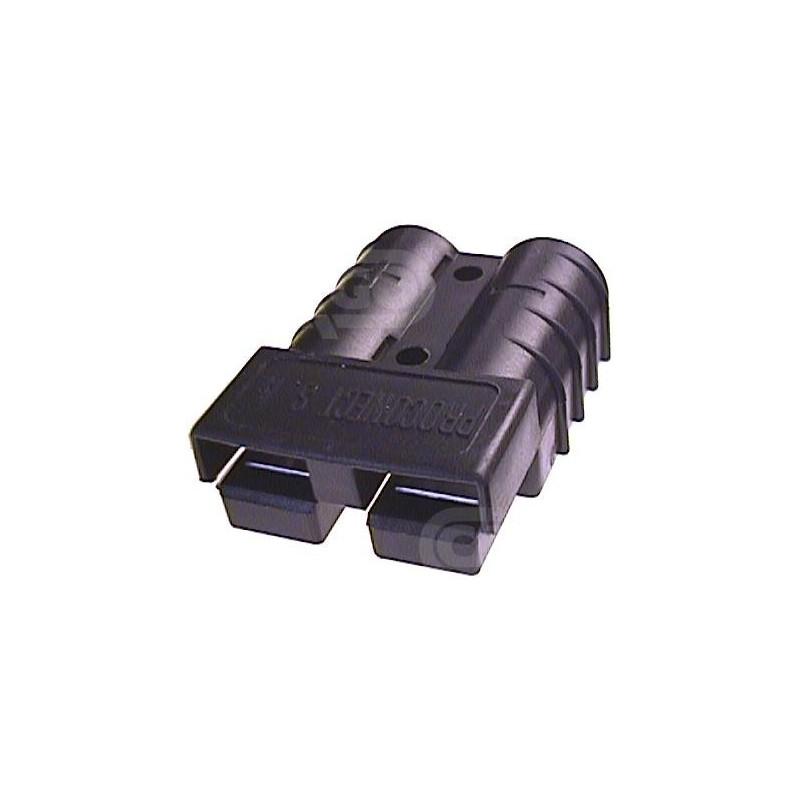 Connecteur de batterie CB50 6mm2 Noir