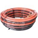 Câbles de batterie Jumelés Double Rouge/Noir