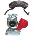 Flexible d'air - Main d'air et Tête d'accouplement pour freinage poids lourds